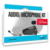 CARDO FREECOM Kit Комплект крепления, наушников и микрофонов