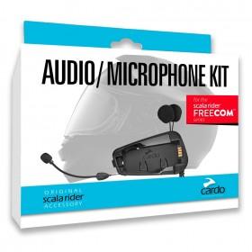 CARDO Freecom AudioKit Комплект крепления, микрофонов и наушников для мотогарнитур серии Freecom.