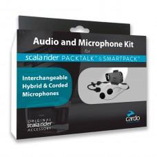 CARDO AUDIOKIT PACKTALK/SMARTPACK KIT крепления, наушники,микрофоны